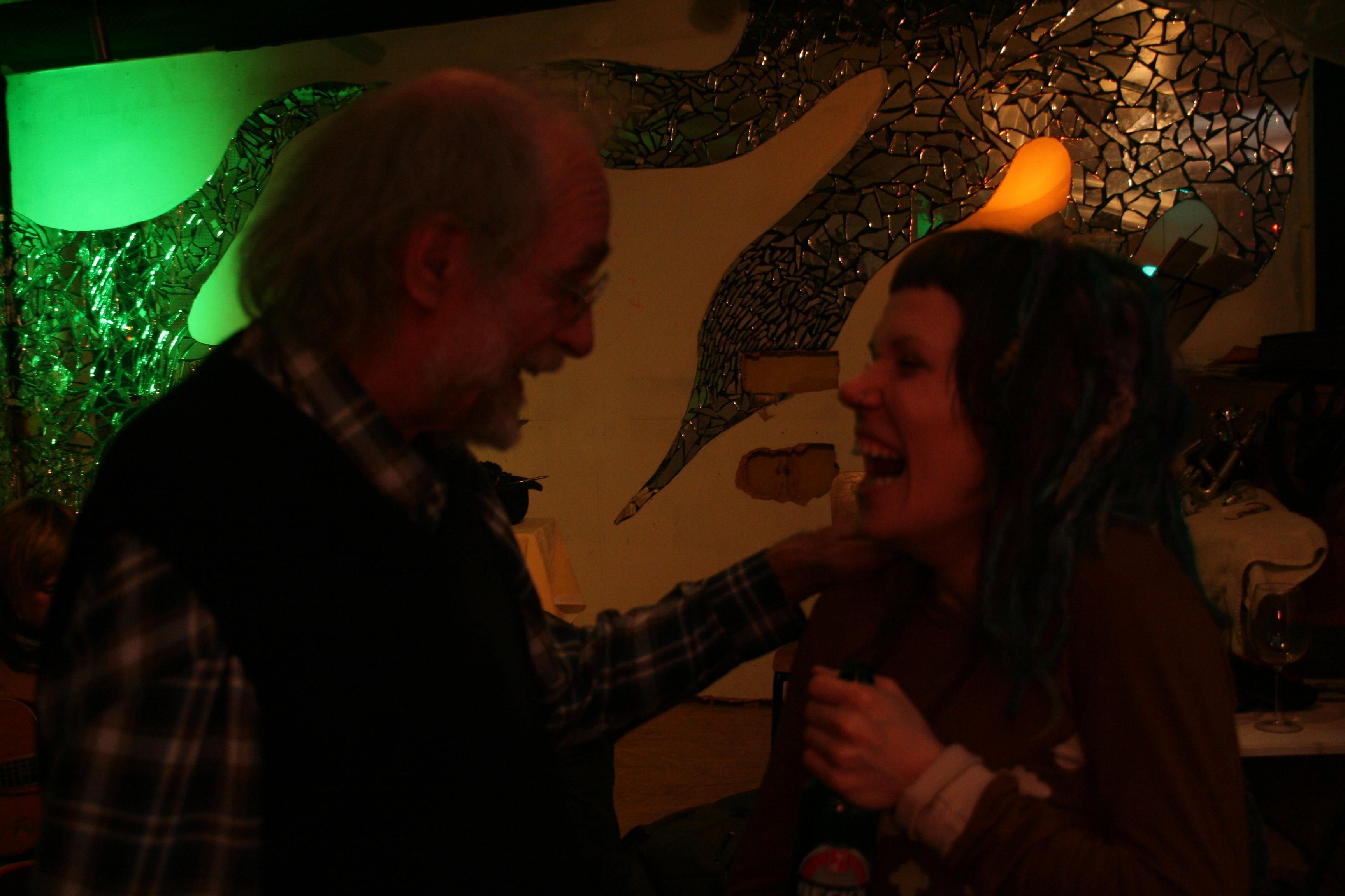 Hannah und Klaus der Geiger